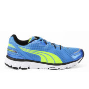 Puma Men's Faas 600 Running Shoes -  Black/Yellow/Blue