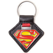 DC Comics Superman Metal Enamel Symbol Keychain