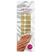 nails inc. Nail Wraps - Gold (24 Wraps)