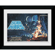 Star Wars One Sheet Landscape - Collector Print - 30 x 40cm