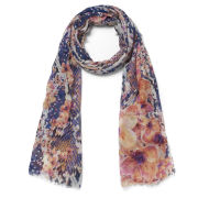 Matthew Williamson Women's Blossom Snake Scarf - Orange