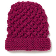 French Connection Fifi Knitted Hat - Berry Punch