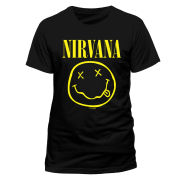 Nirvana Men's T-Shirt - Smiley