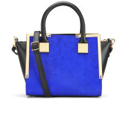 Ted Baker Metal Corners Mini Tote Bag - Bright Blue
