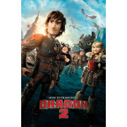 How to Train Your Dragon 2 One Sheet - Maxi Poster - 61 x 91.5cm