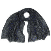 Mercy Delta Safari Cashmere Signature Scarf - Midnight