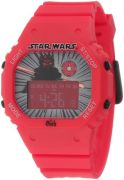Star Wars Kids' Darth Maul Digital Watch - Rubber Strap - Red