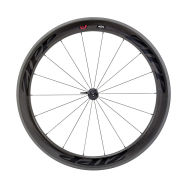 Zipp 404 Firecrest Carbon Clincher Front Wheel 18 Spokes - Black Decal 2015