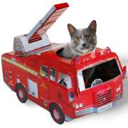 Cat Play Houses - Fire Engine