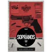 The Sopranos - Limited Signed and Numbered Giclee Print
