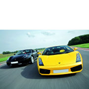 Two Supercar Driving Thrill with Passenger Ride