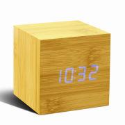 Cube Beech Click Clock