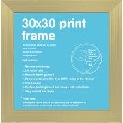 Gold Frame - 30 x 30cm