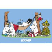 Moomins Picnic - Maxi Poster - 61 x 91.5cm