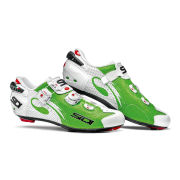 Sidi Wire Carbon Air Vernice Cycling Shoes - White/Green  - 2015