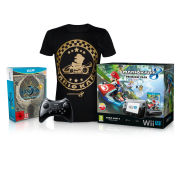 Wii U Bayonetta 1 + 2 First Print Edition Action Pack (T-Shirt - Large)