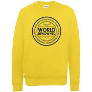 Football Manager World Renowned Badge Men's Sweatshirt