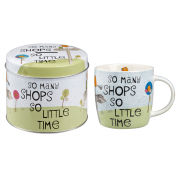 The Good Life Spice Mug Shops Gift Tin (284ml) - Multi