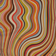Paul Smith Accessories Women's Square Swirl Silk Scarf - Multi Swirl