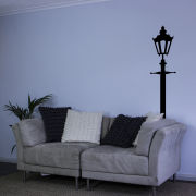 Victorian Single Lamppost Vinyl Wall Decal