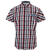 Jack & Jones Men's Elton Shirt - Flame Scarlet