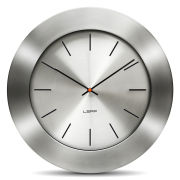 LEFF Amsterdam 55cm Wall Clock - Bold Steel Index