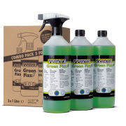 Pedro's Green Fizz Cleaner 1L 3 For 2 Combo Pack