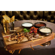 Cocktails and Food Platter For Two at Dirty Martinis