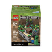 Lego Cuusoo Minecraft Micro World - The First Night