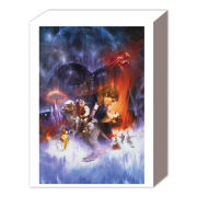 Star Wars Empire Strikes Back One Sheet - 40 x 30cm Canvas
