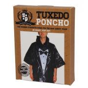Gentleman's Club Tuxedo Poncho