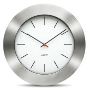 LEFF Amsterdam 55cm Wall Clock - Bold White Index