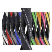 2 x Vredestein Fortezza TriComp Clincher Road Tyre Black 700c x 23mm