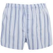 Derek Rose Men's Dawn 12 Slim Fit Boxer Shorts - Blue