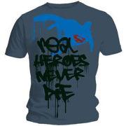 Superman Men's T-Shirt - Hero Graffiti
