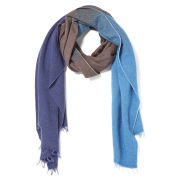 Paul Smith Accessories Men's Hand Dyed Scarf - Navy