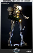 Samus Light Suit - Exclusive Edition