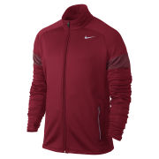 Nike Men's Element Thermal Full Zip Running Jacket - Gym Red