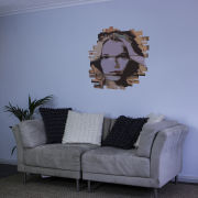 Woman's Face Graffiti Vinyl Wall Sticker