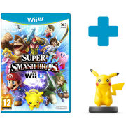 Super Smash Bros. for Wii U + Pikachu No.10 amiibo
