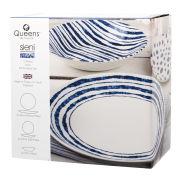 Sieni Inkie Coupe 12 Piece Set Photo Box - White/Blue