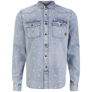 Smith & Jones Men's Librae Shirt - Light Blue Denim
