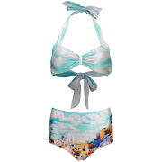We Are Handsome Women's 'The Township' Fifties Style Bikini - The Township