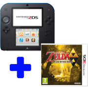 Nintendo 2DS Black & Blue: Bundle includes The Legend of Zelda™: A Link Between Worlds