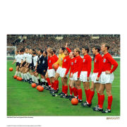 England 1966 Line Up Fine Art Print
