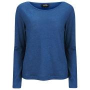 A.P.C. Women's Mariniere Long Sleeved T-Shirt - Blue