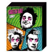 Green Day Trio - 50 x 40cm Canvas