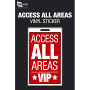 Access All Areas VIP - Vinyl Sticker - 10 x 15cm