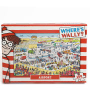 Wheres Wally - Airport Jigsaw Puzzle (100 Pieces)