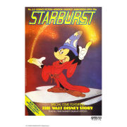 Mickey Mouse Starburst Fine Art Print